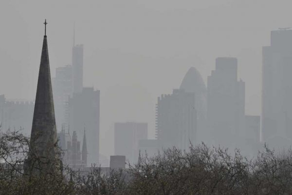 Air pollution in the City of London